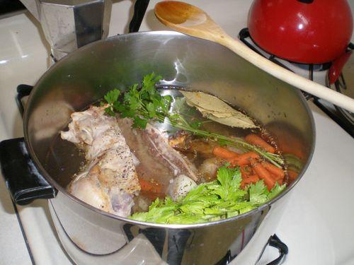 Stock in Pot