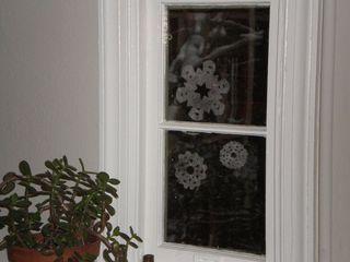 Dryer Snowflakes